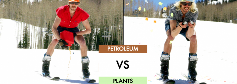 Petroleum wax vs modern plants. (Image courtesy mountainFLOW)