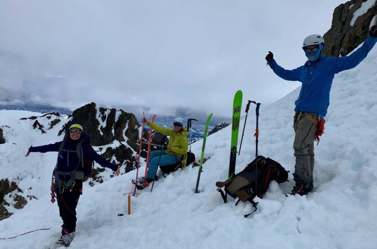 Ski summit!