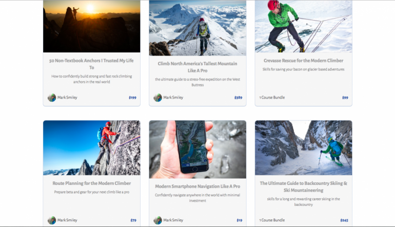 Oh the things you can learn online. The Mountain Sense dashboard offers a growing variety of in-depth options.