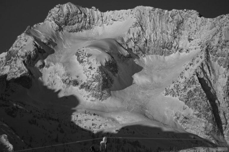 Location: Merritt Peak, Sawtooth Mountains Photo Credit: Tanner Haskins